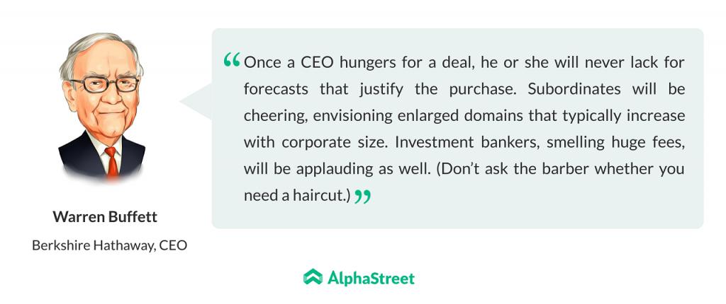 Warren Buffett's Letter to Shareholders